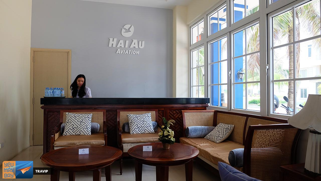 Hai Au waiting room in Tuan Chau port