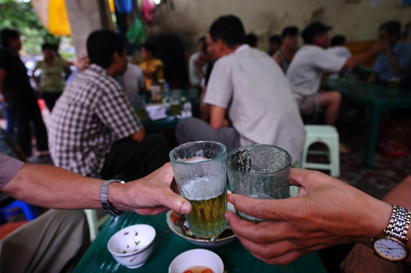 Unique Vietnamese beer culture