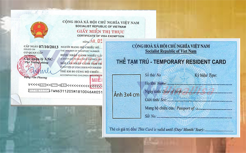 Getting Temporary Resident Card in Vietnam