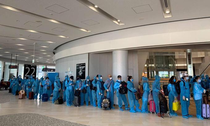 Repatriation procedures for Vietnamese living in Japan