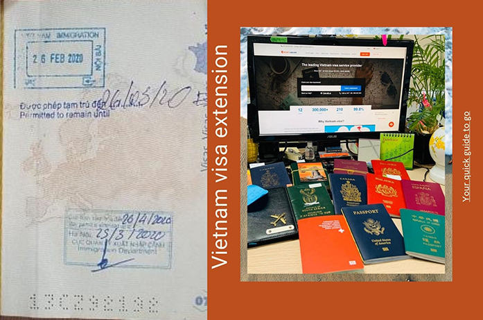 How to extend the Business visa for foreigners in Vietnam?